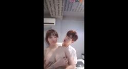 มาแฟนสาวมาโชว์เป็นคู่เทพเกาหลีโคตรน่าเย็ดจริงๆ